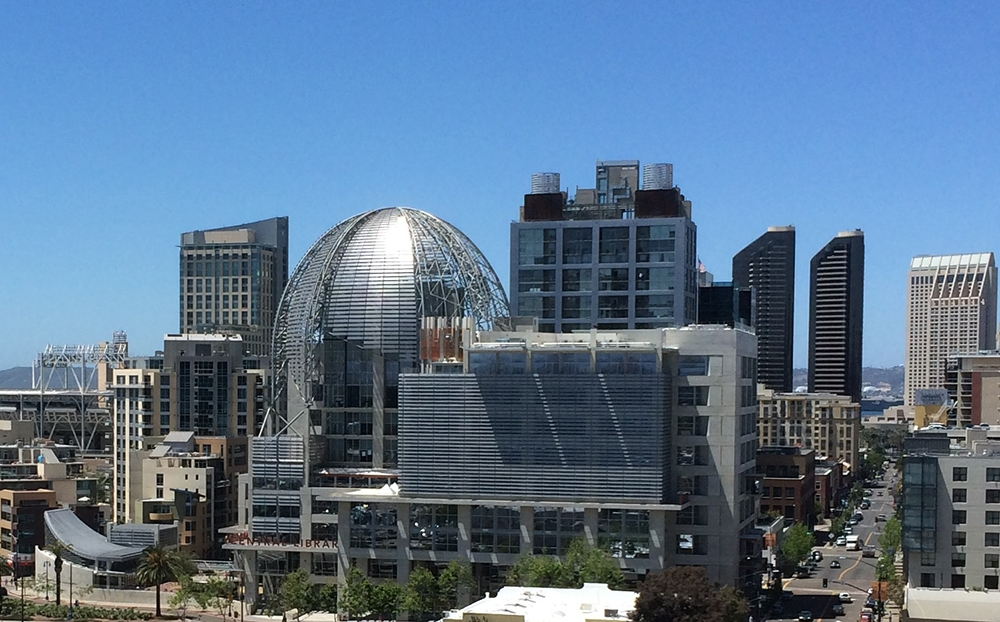 New San Diego downtown Library